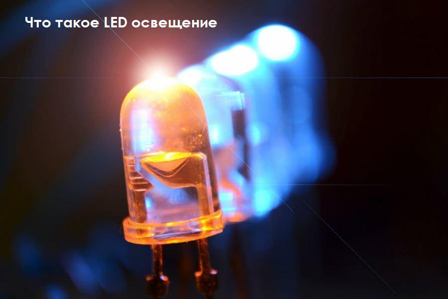 Что такое LEDосвещение