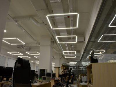 Светодиодное освещение офиса и других рабочих помещений