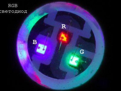 Что такое многоцветные rgbсветодиоды