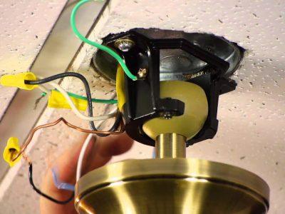 Установка светильника своими руками — пошаговая инструкция