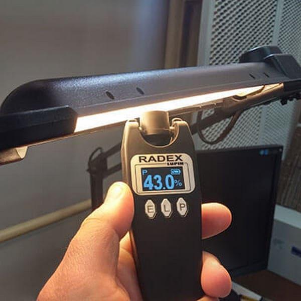 измерение пульсации LED ламп